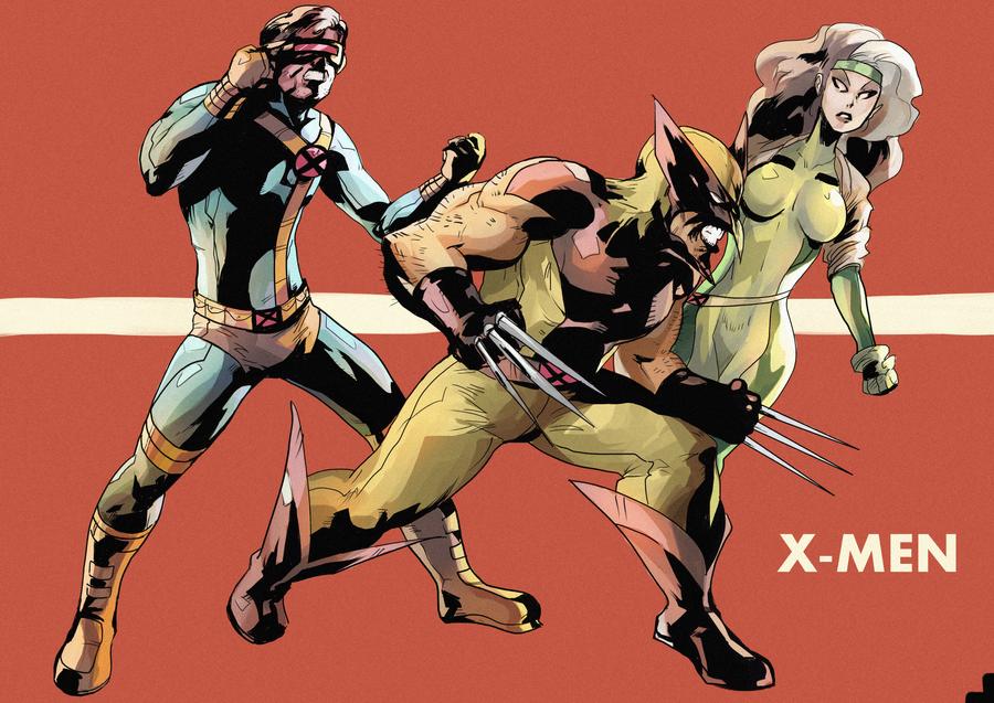 90s X-Men by daremaker