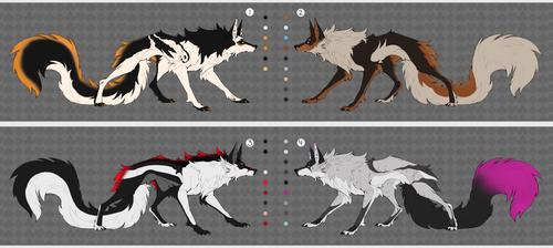 Wolf hybrid Adoptables Auction CLOSED by RyuujiDamon