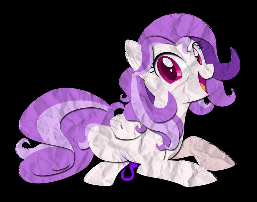 Paper Pony: Emi by IEatedAUnicorn