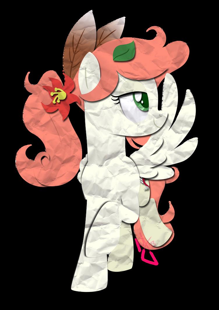 Paper Pony: Freedom Gale by IEatedAUnicorn