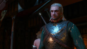 The Witcher 3: Geralt pleased with his performance by Amachow