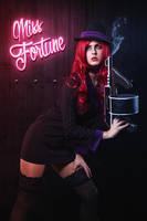 Mafia Miss Fortune by JubyHeadshot