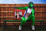 She Hulk and Jennifer Walters!