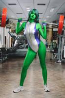 She Hulk! by JubyHeadshot