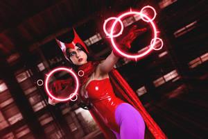 Scarlet Witch! by JubyHeadshot