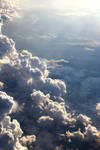 Clouds from a 747