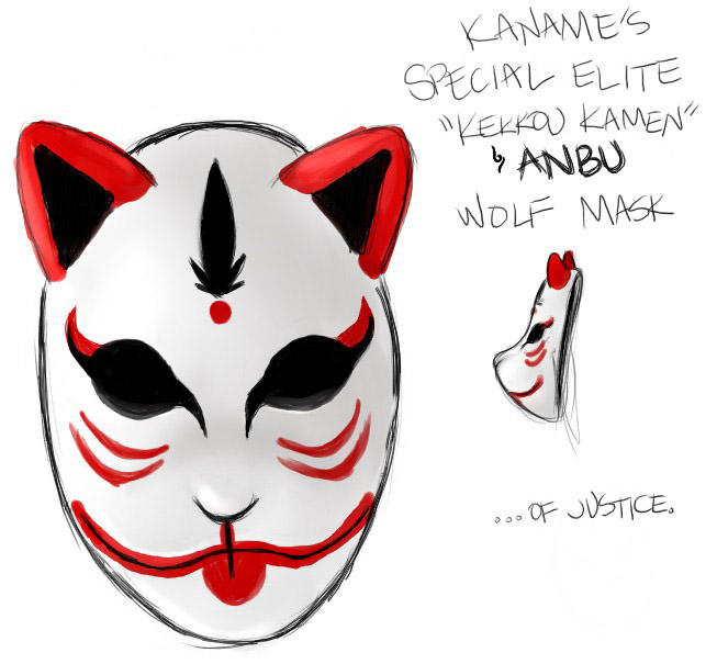 HVoY ANBU Mask D...Cool Anbu Mask Designs