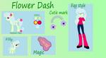 Flower Dash Reference Sheet