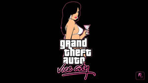 GTA Vice City [10 Years Anniversary] Wallpaper 1 by eduard2009