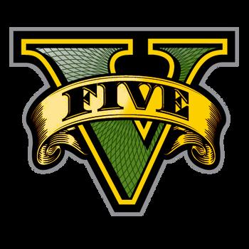 GTA V Gold Logo by eduard2009