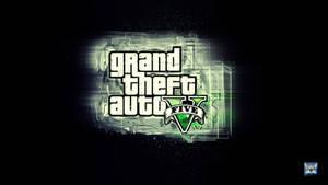 GTA 5 logo wallpaper