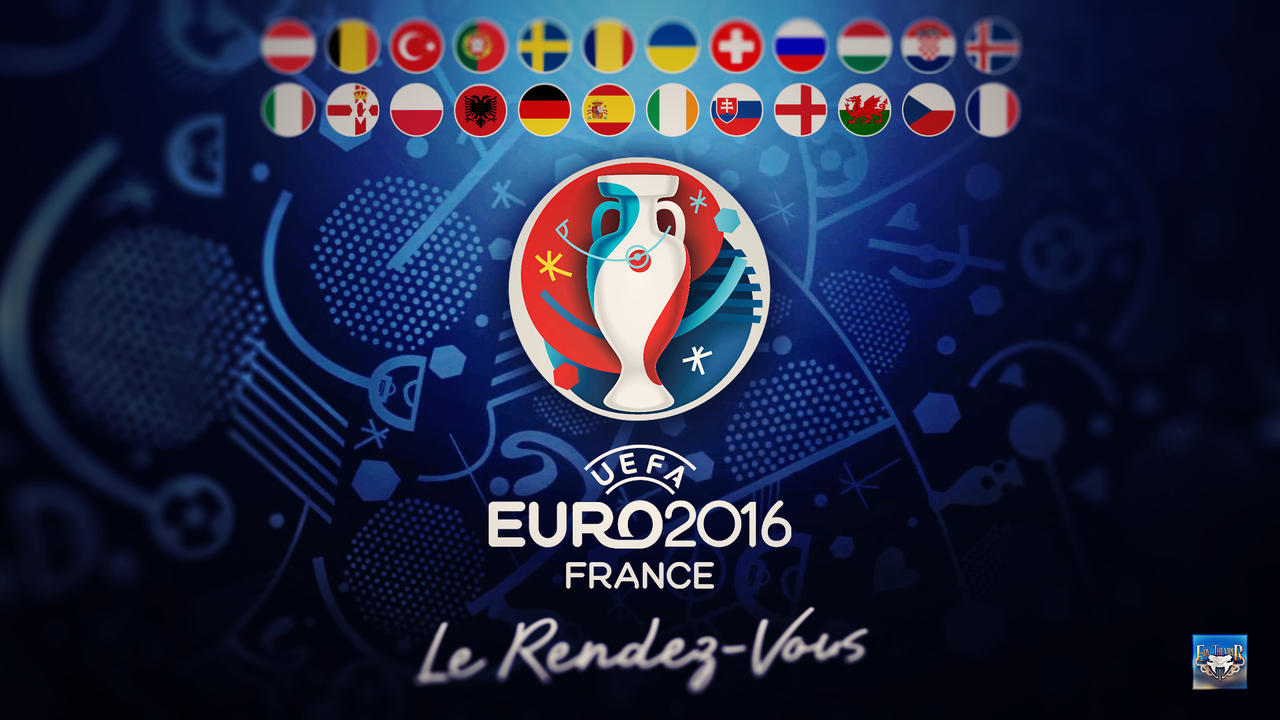 Uefa Euro 2016 Wallpaper by eduard2009
