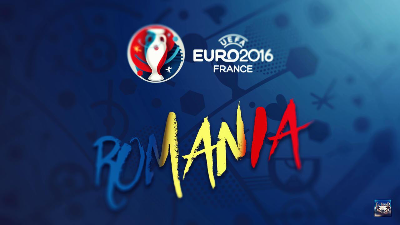 Uefa Euro 2016 Romania Wallpaper by eduard2009