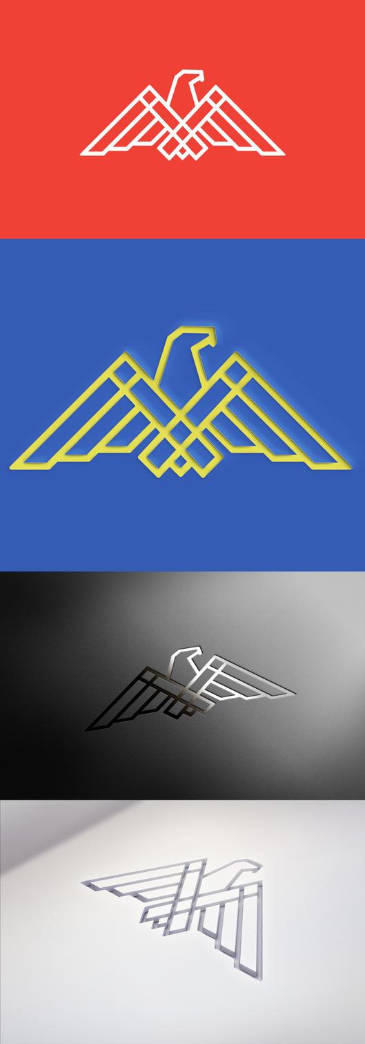 Eagle logo by eduard2009