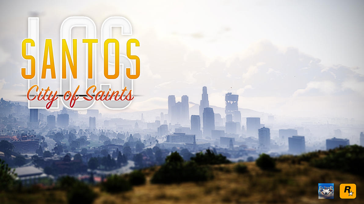 Los Santos - City of Saints Wallpaper by eduard2009