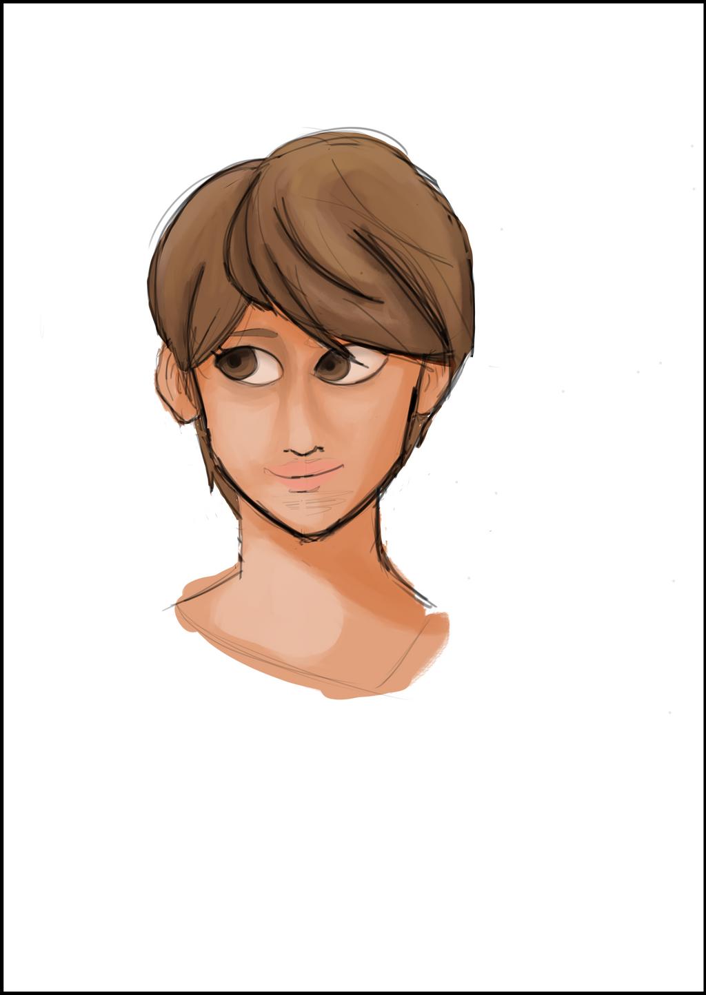 Brown eyed girl by jgsheffe