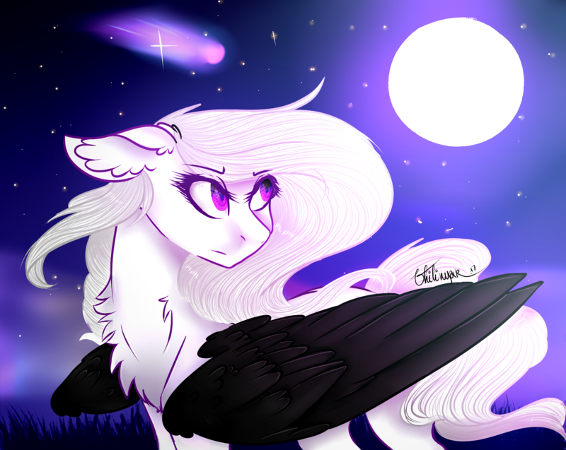I Love Moon  C  By Vhilinyar-db0rrcz by Alearyon