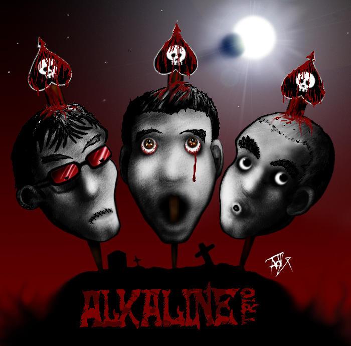 Alkaline Trio RockToon by FattBastard