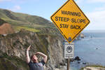 Steep Slope, Stay Back