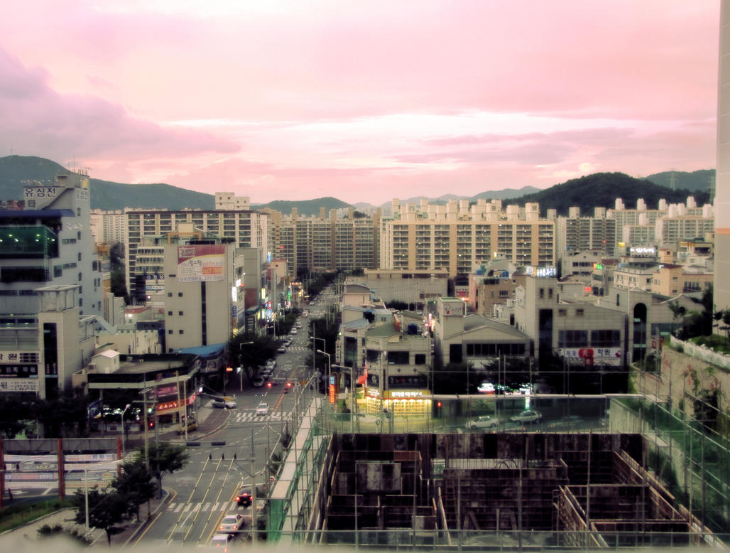 Suncheon-si South Korea  city photos : Suncheon si at Dusk by KingCole10 on deviantART