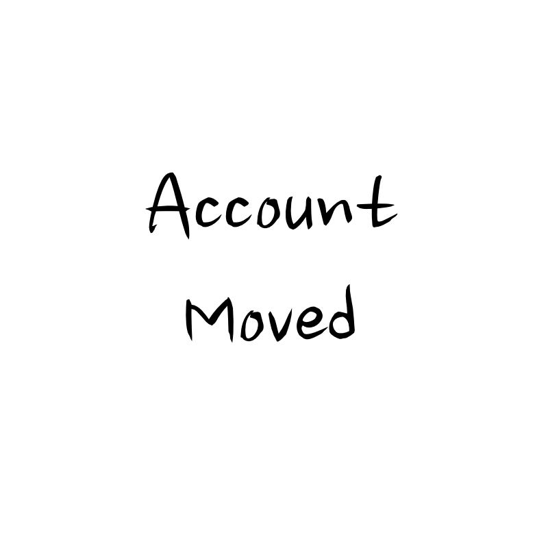 Account moved to NOGLASTIA by Cutiet96