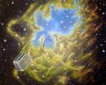 Toaster Passes Eagle Nebula