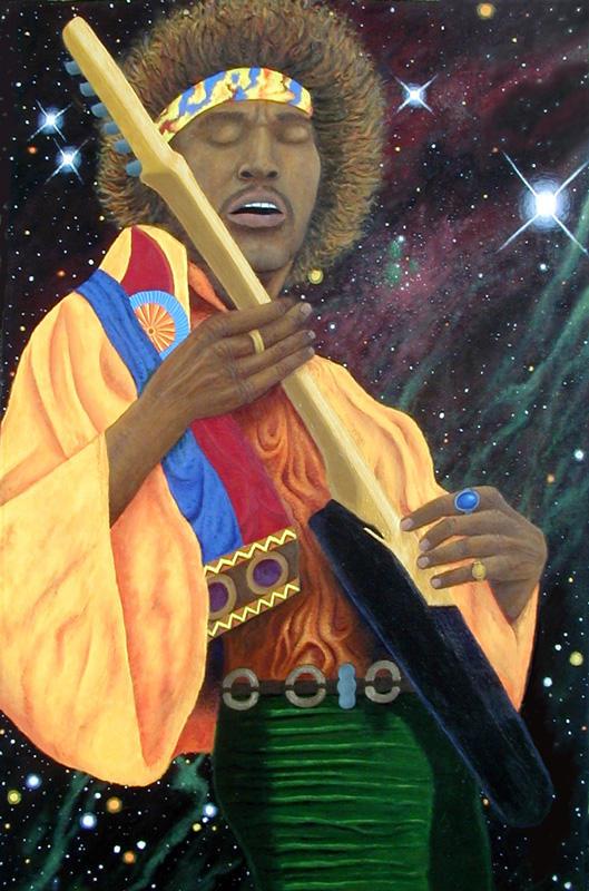 Jimi hendrix by rblee83 on deviantart - Jimi hendrix wallpaper psychedelic ...