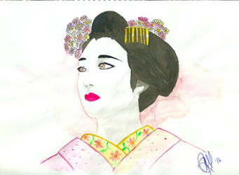 Yuri, the Geisha