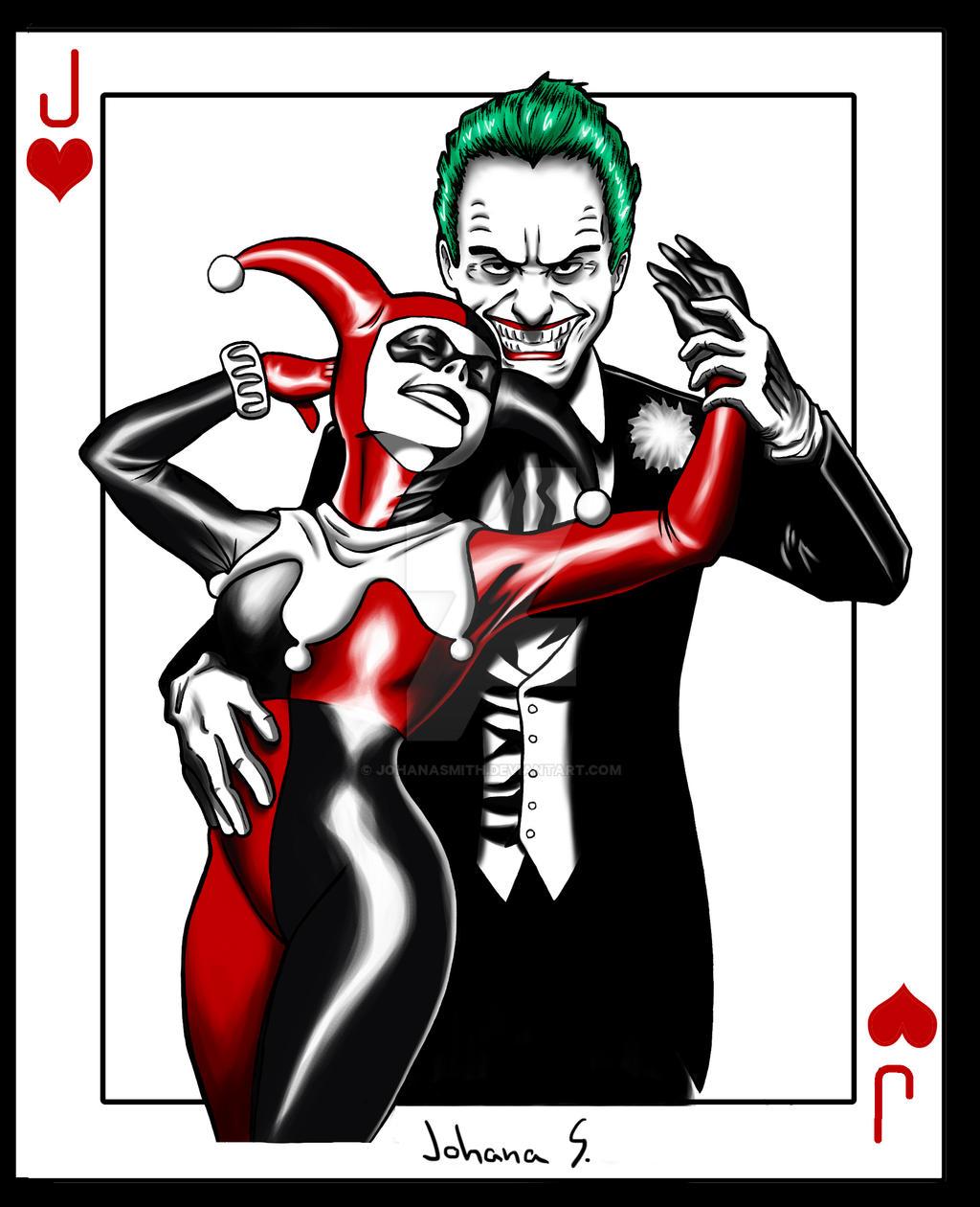 joker card art - photo #13