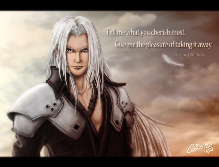 Sephiroth by GarrettByers