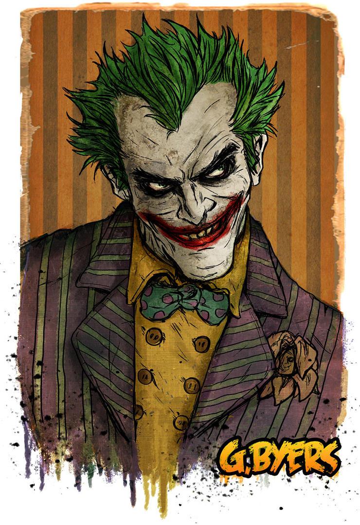 https://pre00.deviantart.net/2643/th/pre/f/2012/276/8/a/joker_oct_3_by_garrettbyers-d5gqkya.jpg Comic Joker Painting