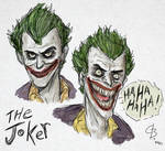 The Joker sketches