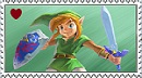 ALBW Stamp - Link by SteamPoweredCrocutas