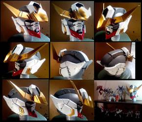 Barbatos Gundam Head by JohnAmuroRey