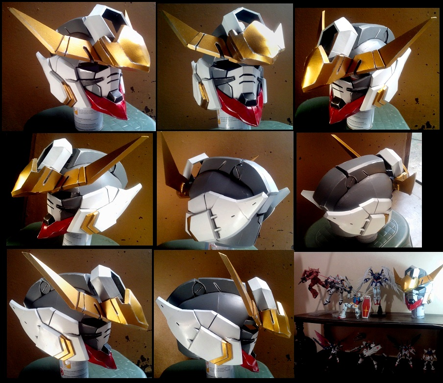 Barbatos Gundam Head by JohnAmuroRey