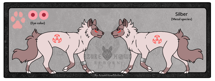 AzureHowl Reborn - Silber