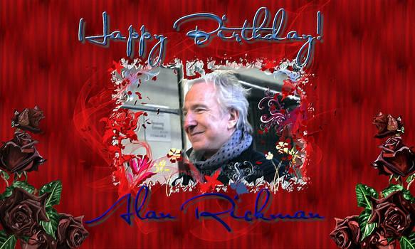Happy Birthday Alan Rickman