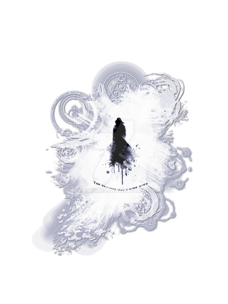 The Bravest Man - Magic Circles - ~Snape~ by Scatharis