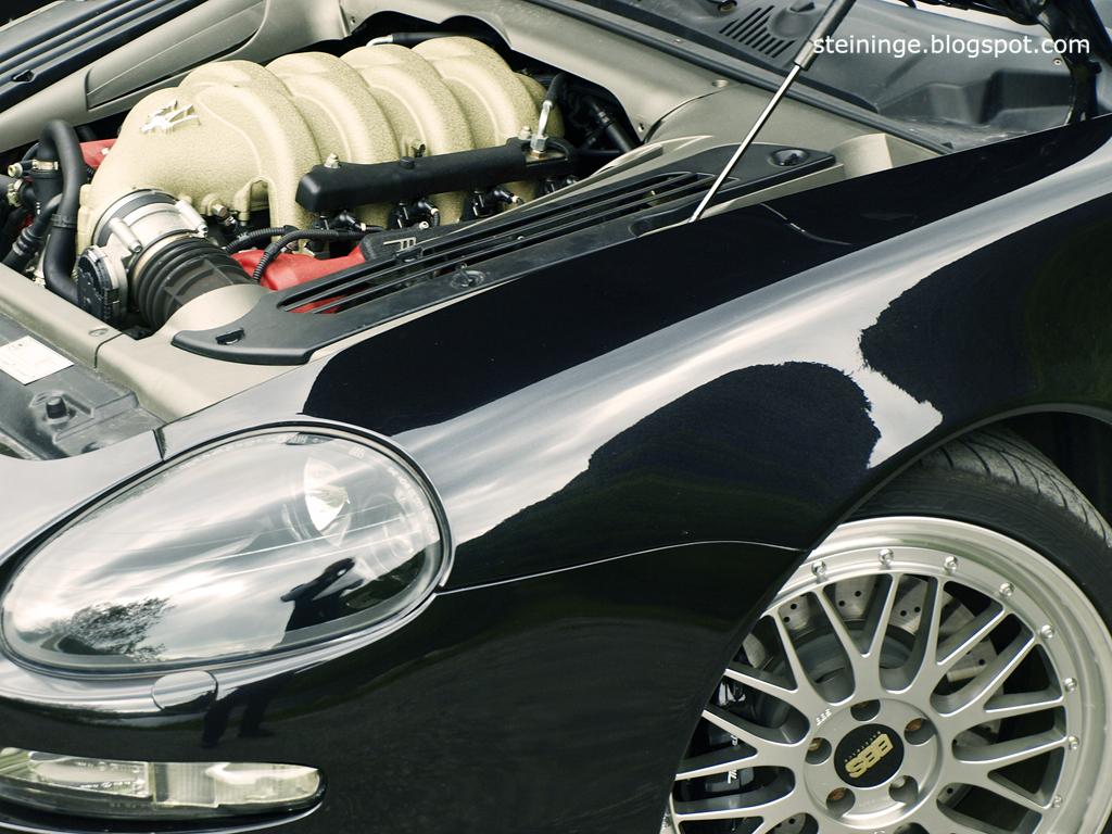 Maserati 4200 Spyder.