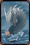 Tarot Card -- Leviathan