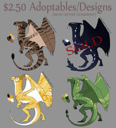$2.50 Adoptables SLASH designs