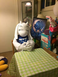 Toriel Near Life Size Plush