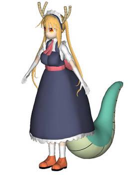 Tohru Dragon Maid 3D model