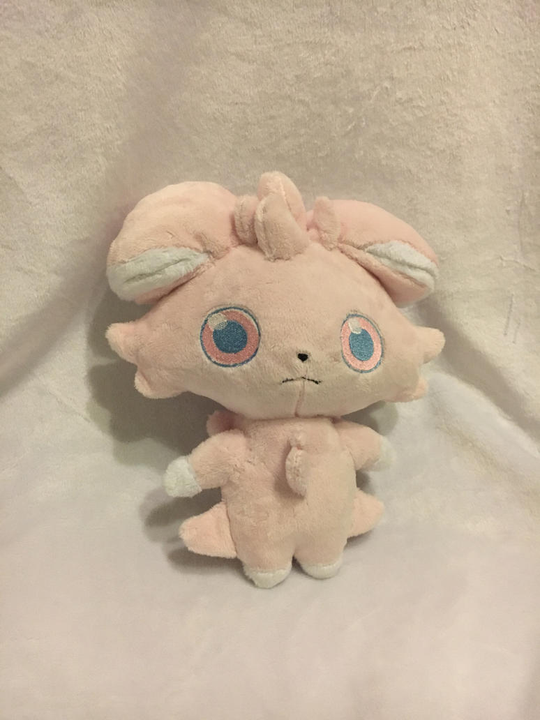 Espurr Shiny Plush by KLPlushies