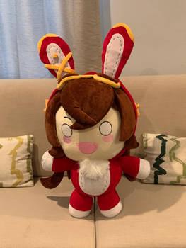 Ambers Baron Bunny Plush