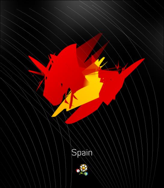 Euro 2012: Spain by ZincH21