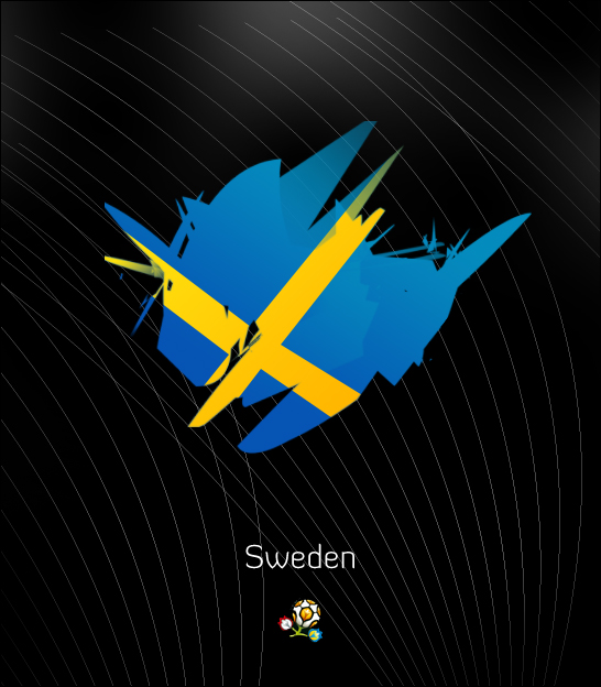 Euro 2012: Sweden by ZincH21