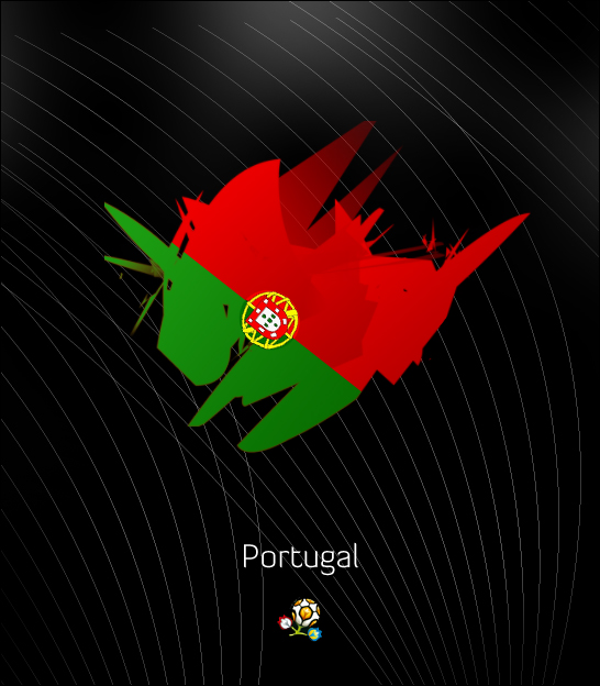 Euro 2012: Portugal by ZincH21