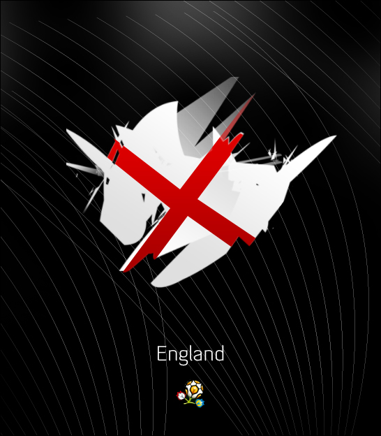Euro 2012: England by ZincH21