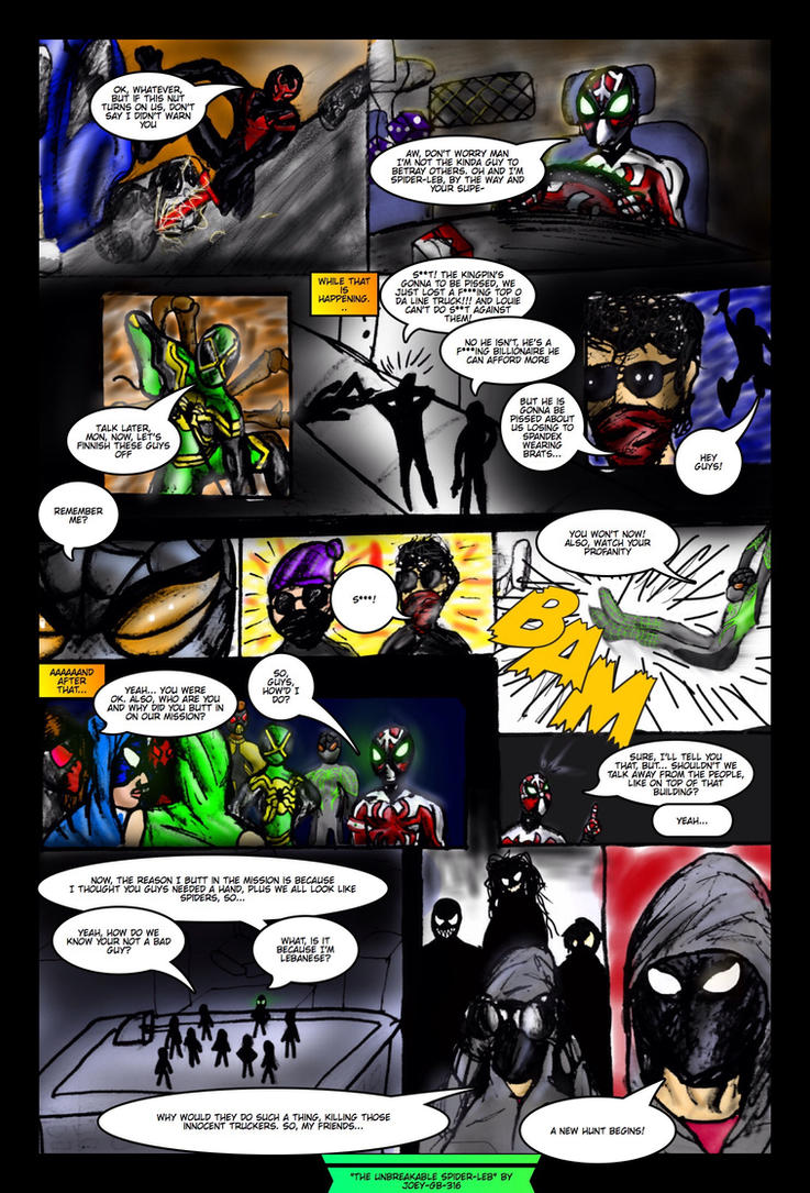The Unbreakable Spider-Leb | PAGE 3!!!!!!!! by Joey-GB-316